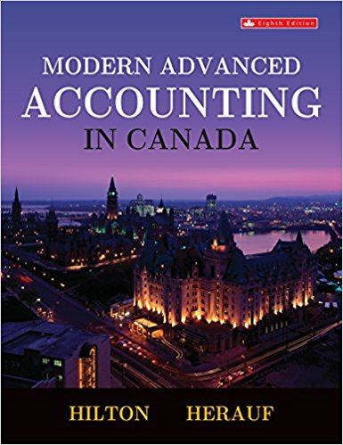 test bank for Modern Advanced Accounting in Canada 8th edition的图片 1