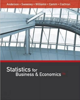 solution manual for Statistics for Business and Economics 13th Edition的图片 1