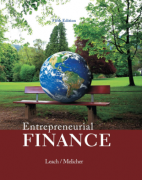 solution manual for Entrepreneurial Finance 5th Edition