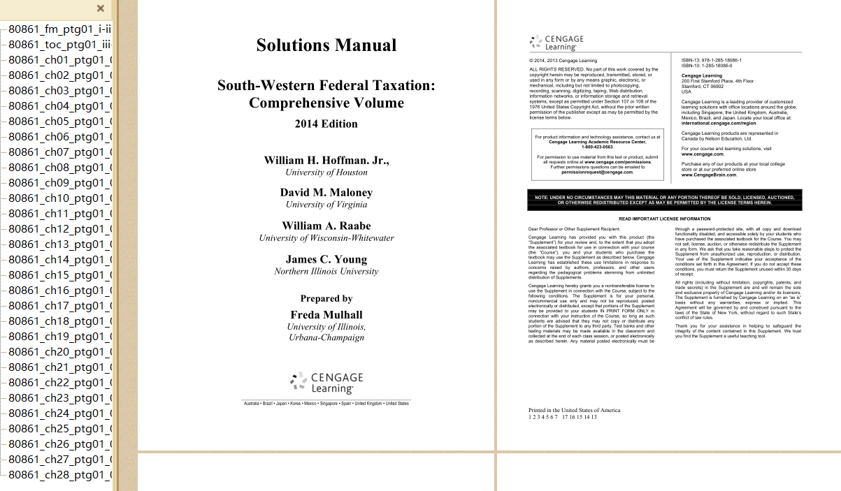 solution manual for South-Western Federal Taxation 2014 Comprehensive 37th Edition的图片 3