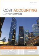 solution manual for Cost Accounting A Managerial Emphasis 15th Edition