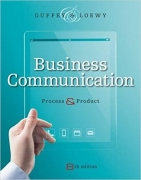 test bank for Business Communication: Process and Product 8th Edition