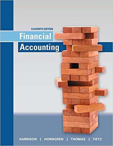 test bank for Financial Accounting 11th Edition by Walter T. Harrison的图片 1