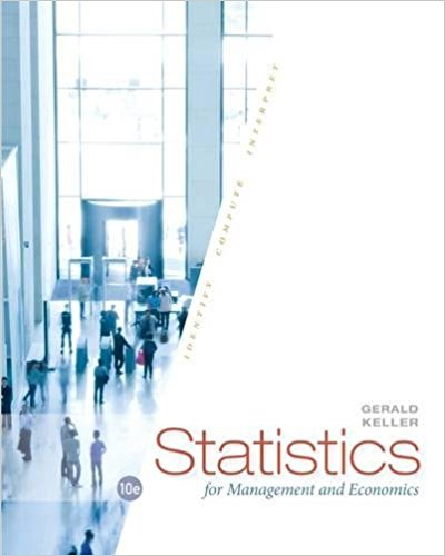 solution manual for Statistics for Management and Economics 10th Edition的图片 1