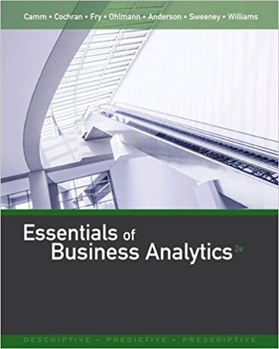 solution manual for Essentials of Business Analytics 2nd Edition的图片 1