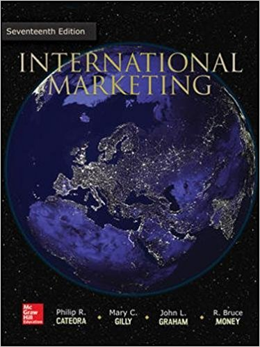 solution manual for International Marketing 17th Edition的图片 1