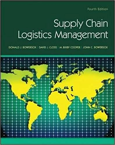 test bank for Supply Chain Logistics Management 4th Edition的图片 1