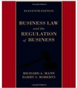 test bank for Business Law and the Regulation of Business 11th Edition