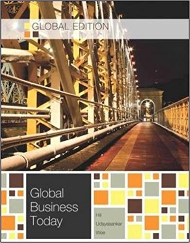 test bank for Global Business Today 8th global edition by Charles W. L. Hill的图片 1