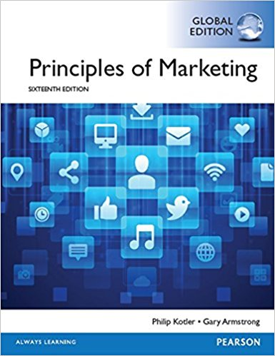 solution manual for Principles of Marketing 16th Global Edition的图片 1