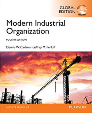 test bank & solution for Modern Industrial Organization 4th Global Edition的图片 1