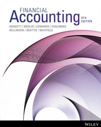 solution manual for Financial Accounting 9th Edition by John Hoggett的图片 1