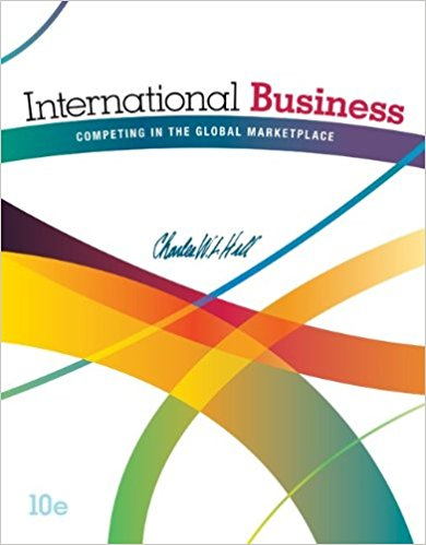 solution manual for International Business: Competing in the Global Marketplace 10th Edition的图片 1