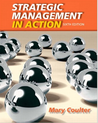 solution manual for Strategic Management in Action 6th Edition的图片 1