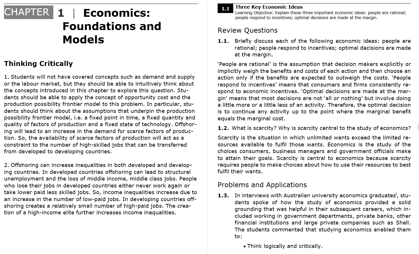 solution manual for Essentials of Economics 3rd Australian Edition的图片 3
