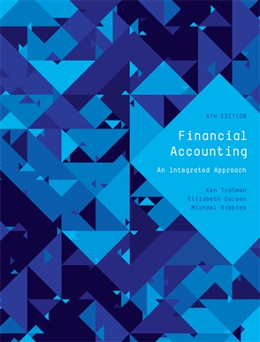 solution manual for Financial accounting: an integrated approach 6th edition的图片 1