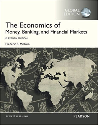 solution manual for The Economics of Money Banking and Financial Markets 11th Global Edition的图片 1