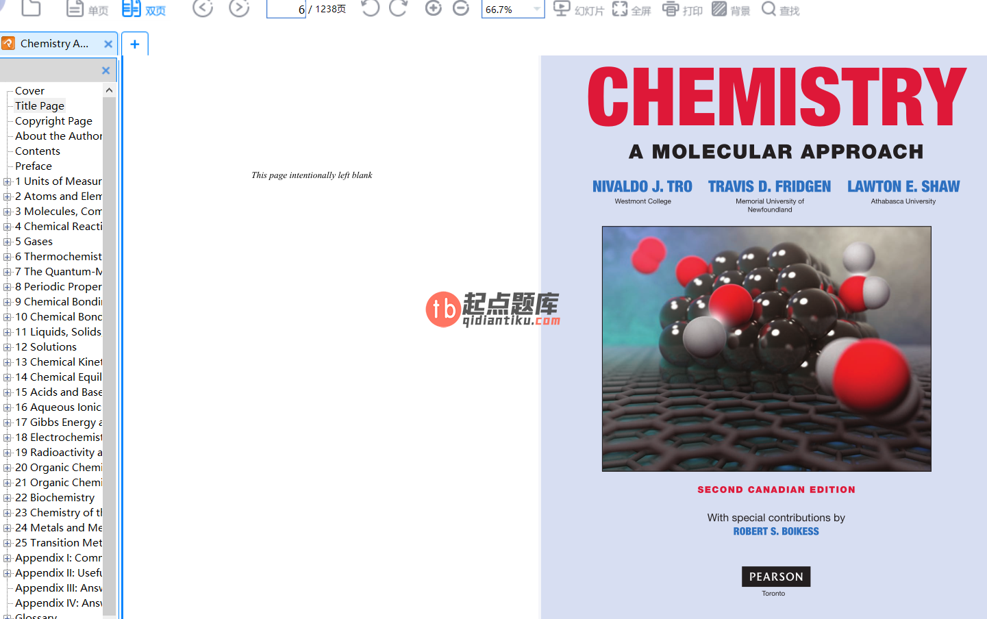 Chemistry: A Molecular Approach 2nd Canadian Edition的图片 2