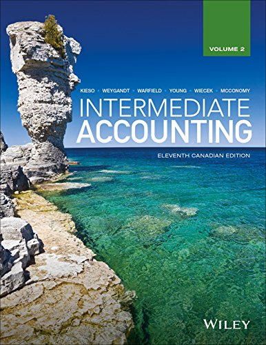 solution manual for Intermediate Accounting Volume 2 11th Canadian Edition的图片 1