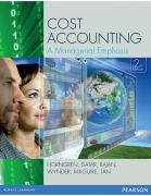 test bank for Cost Accounting: A Managerial Emphasis 2nd Edition