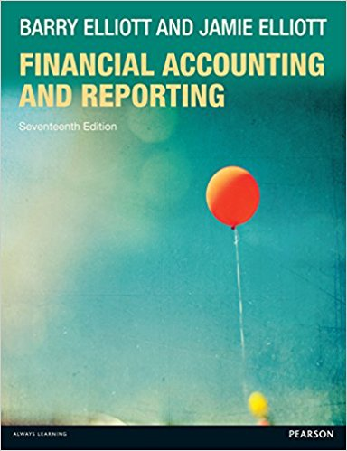solution manual for Financial Accounting and Reporting 17th Edition的图片 1