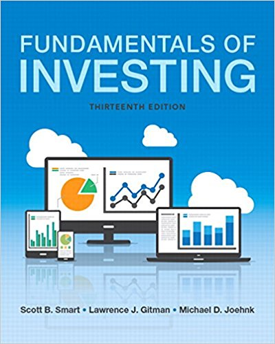 solution manual for Fundamentals of Investing 13th Edition的图片 1