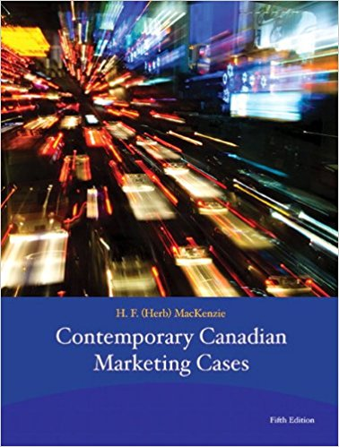 solution manual for Contemporary Canadian Marketing Cases 5th Edition的图片 1