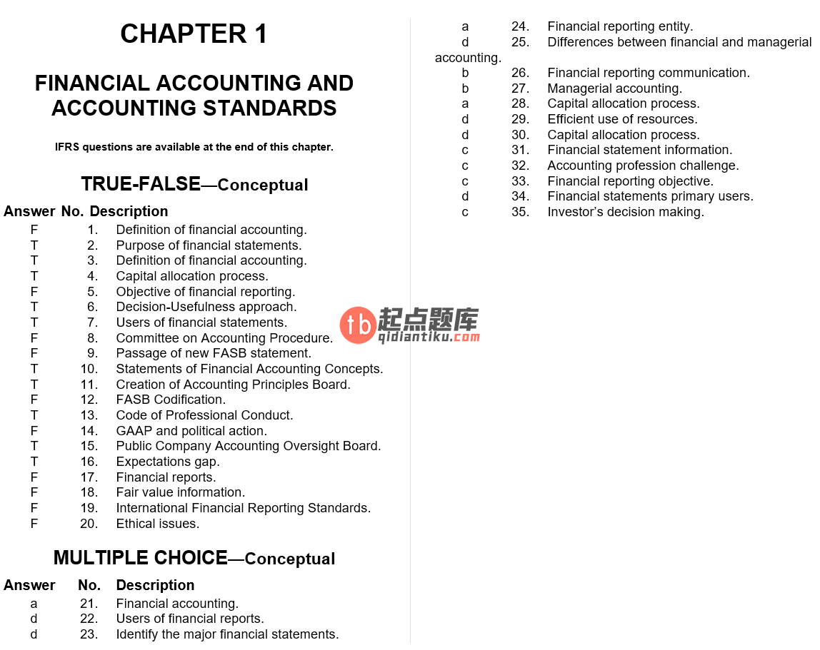 test bank for Intermediate Accounting 16th Edition的图片 3