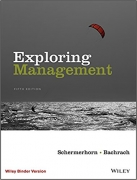 test bank for Exploring Management Binder Ready Version 5th edition