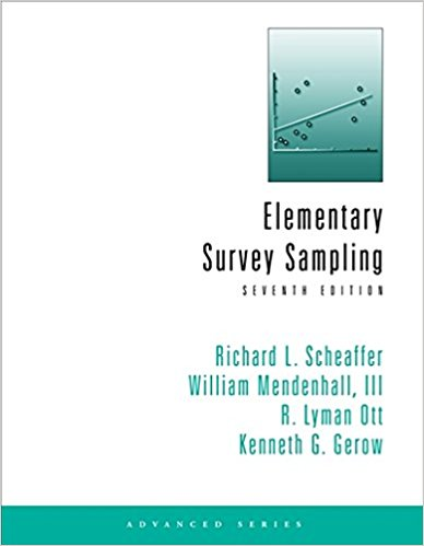solution manual for Elementary Survey Sampling 7th edition的图片 1