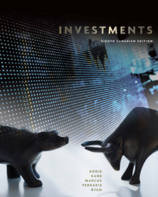 test bank for Investments 8th canadian edition by zvi bodie的图片 1