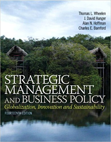 test bank for Strategic Management and Business Policy 14th Edition的图片 1