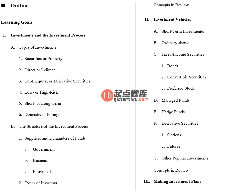 solution manual for Fundamentals of Investing 3rd Australian Edition的图片 4