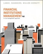 solution manual for financial institutions management 4th edition by Helen Lange