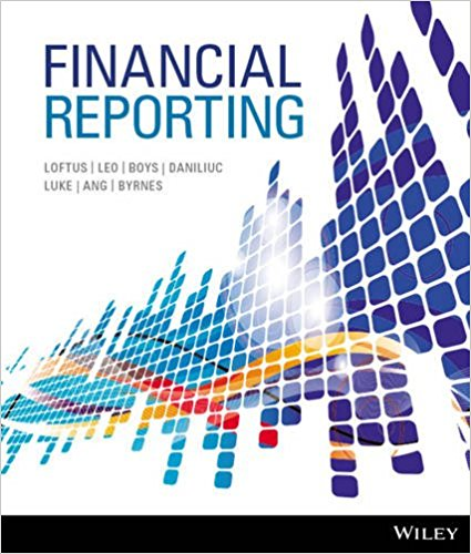 test bank for Financial Reporting by Janice Loftus的图片 1