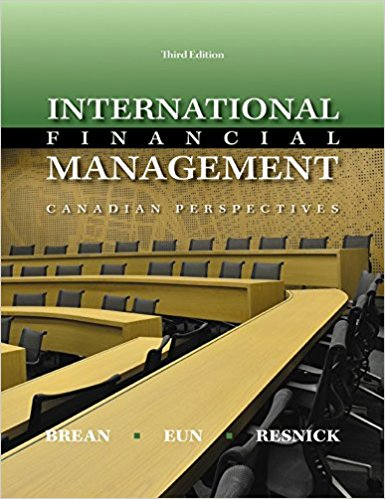 test bank for International Financial Management: Canadian Perspective 3rd edition的图片 1