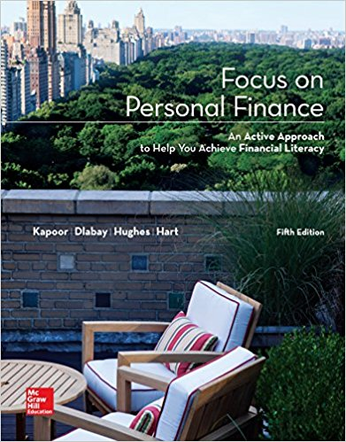 solution manual for Focus on Personal Finance 5th Edition的图片 1