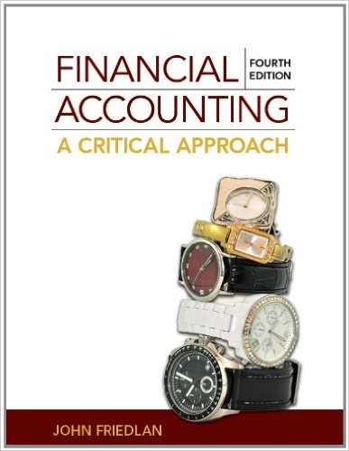solution manual for Financial Accounting: A Critical Approach 4th Canadian Edition的图片 1