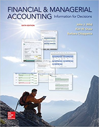test bank for Financial and Managerial Accounting: Information for Decisions 6th Edition的图片 1