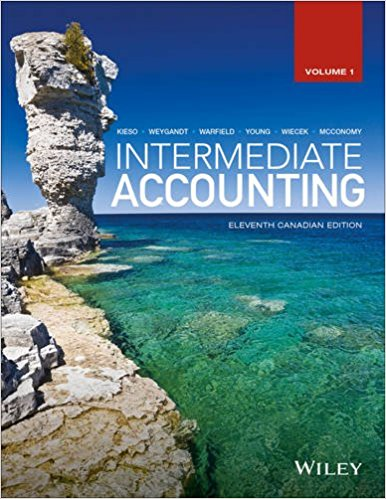solution manual for Intermediate Accounting Volume 1 11th Canadian Edition的图片 1