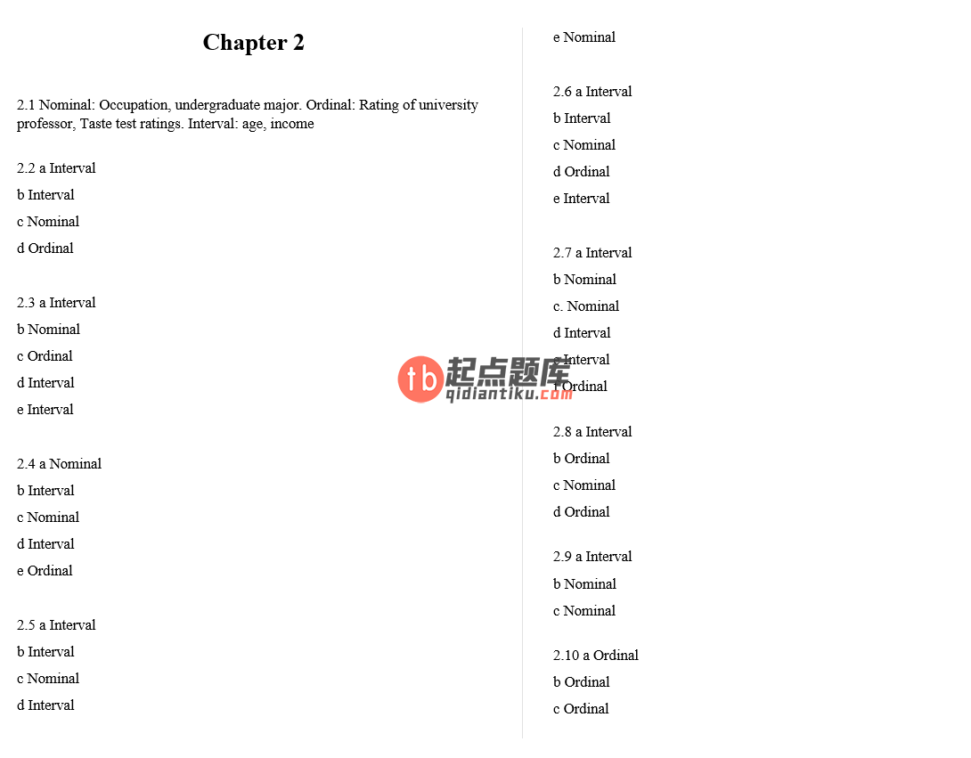 solution manual for Statistics for Management and Economics 10th Edition的图片 3