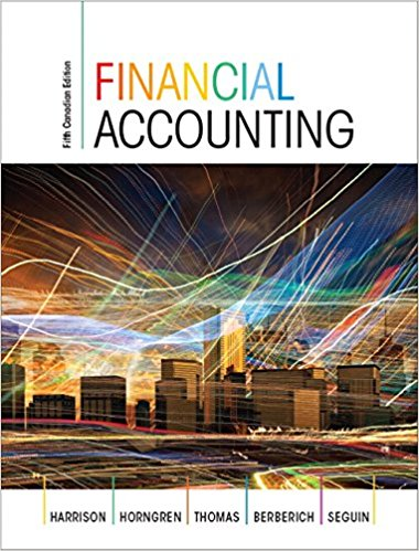 solution manual for Financial Accounting 5th Canadian Edition的图片 1
