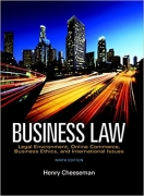 solution manual for Business Law 9th Edition