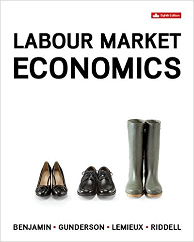 solution manual for Labour Market Economics 8th Canadian Edition的图片 1