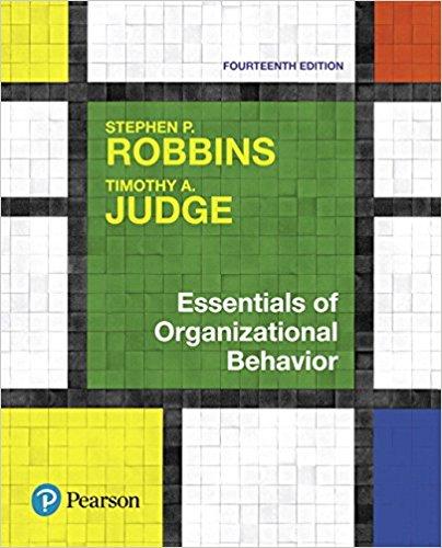 test bank for Essentials of Organizational Behavior 14th Edition的图片 1