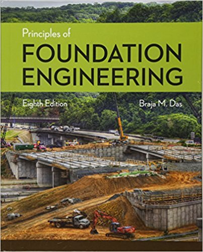 solution manual for Principles of Foundation Engineering 8th Edition的图片 1