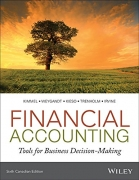 solution manual for Financial Accounting: Tools for Business Decision-Making 6th Canadian Edition