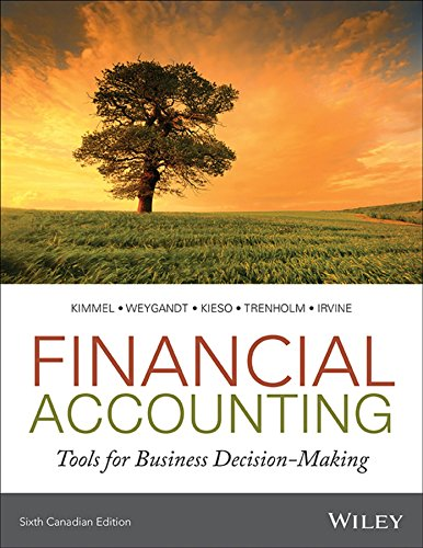 test bank for Financial Accounting: Tools for Business Decision-Making 6th Canadian Edition的图片 1