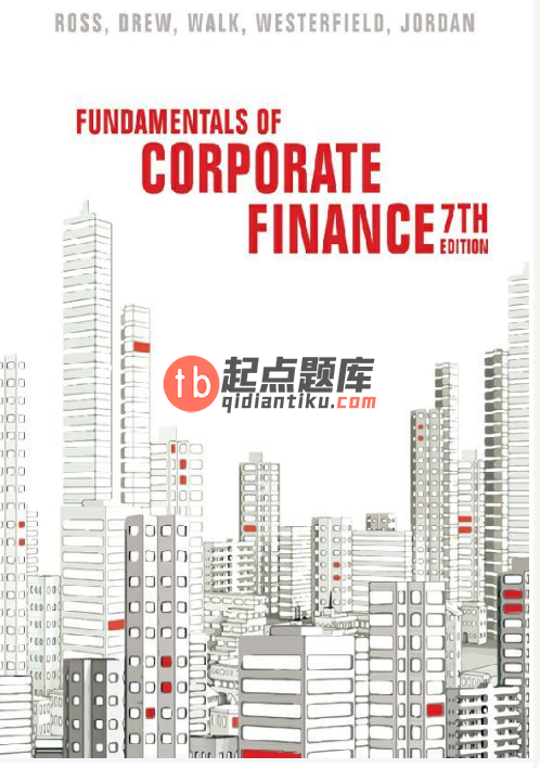 Fundamentals of Corporate Finance 7th Australian Edition by Stephen A. Ross的图片 1