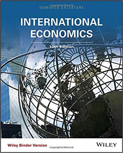 test bank for International Economics 12th Edition的图片 1